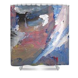 Untitled 141 Original Painting Shower Curtain