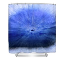 Untitled #3470, From The Soul Searching Series Shower Curtain