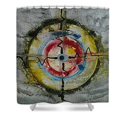 Four Directions Energy Shower Curtain
