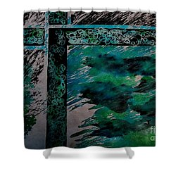 Untitled-52 Shower Curtain