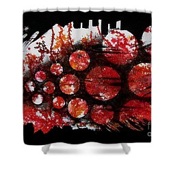 Untitled-75 Shower Curtain