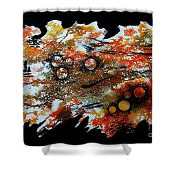 Untitled-85 Shower Curtain