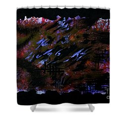 Untitled-86 Shower Curtain
