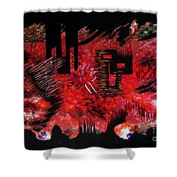 Untitled-90 Shower Curtain