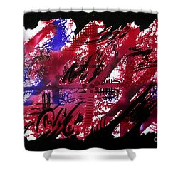 Untitled-92 Shower Curtain