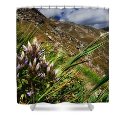 Untitled 94 Shower Curtain