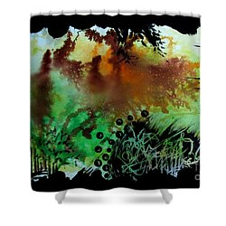 Untitled-95 Shower Curtain