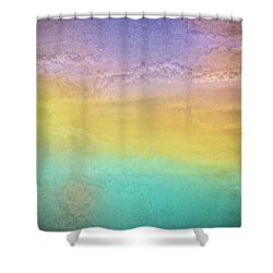 Untitled Abstract Shower Curtain