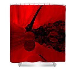 Untitled Shower Curtain by David Lane