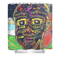 Untitled II Shower Curtain