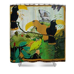 Jungle Boogie 2 Shower Curtain by Patrick Trotter