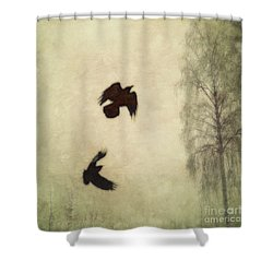 Untitled Shower Curtain by Priska Wettstein