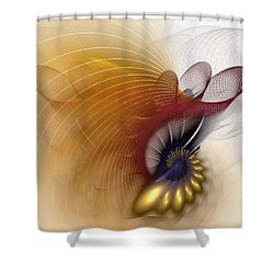 Untitled Study No.601 Shower Curtain by NirvanaBlues