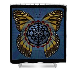 Transforming Meditation Shower Curtain