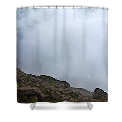 Shower Curtain featuring the photograph The Wall Of Water by Dana DiPasquale