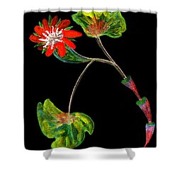 Unusual Shower Curtain by R Kyllo