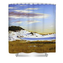 Unwalked Shower Curtain