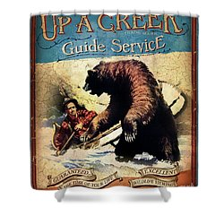 Up A Creek 2 Shower Curtain by JQ Licensing