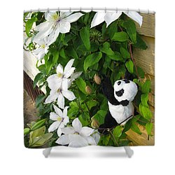 Shower Curtain featuring the photograph Up And Up And Up by Ausra Huntington nee Paulauskaite