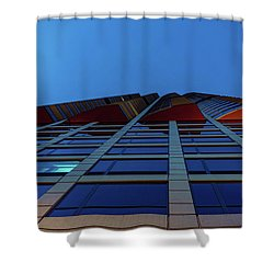 Up Angles Shower Curtain