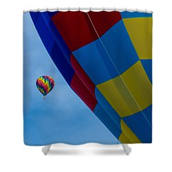 Up And Away 1 12x12 Shower Curtain