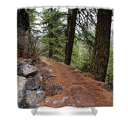 Shower Curtain featuring the photograph Up Around The Bend... by Ben Upham III