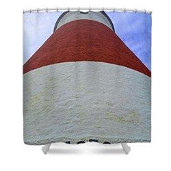 Up Close Sankaty Shower Curtain