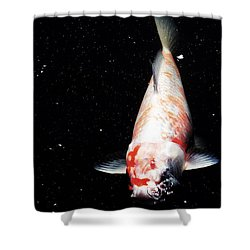 Up For Air Shower Curtain by Deborah  Crew-Johnson