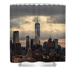 Up High  Shower Curtain