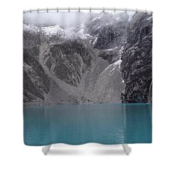 Glacial Pool Shower Curtain