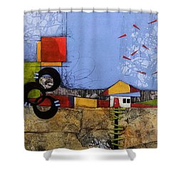 Up The Path Shower Curtain