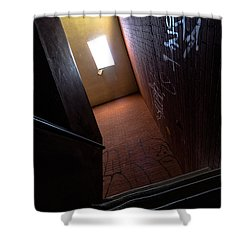 Up The Stairs Shower Curtain
