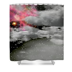 Up Through The Clouds Shower Curtain