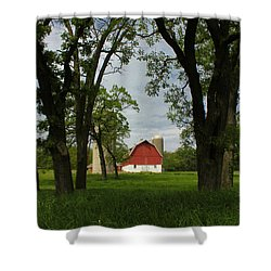 Up Yonder Shower Curtain
