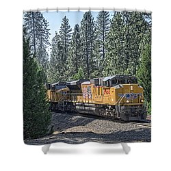 Up8968 Shower Curtain by Jim Thompson