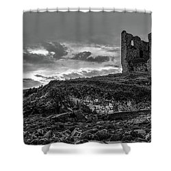 Upcomming Myth Bw #e8 Shower Curtain