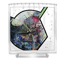 Upgrade Your Imagination  Shower Curtain by Antonio Ortiz