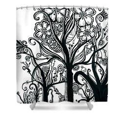 Uplifting Shower Curtain