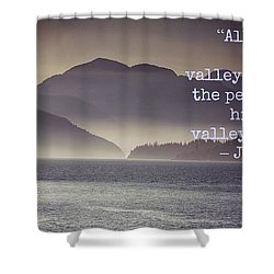 Uplifting244 Shower Curtain