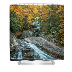 Upper Creek Autumn Paradise Shower Curtain