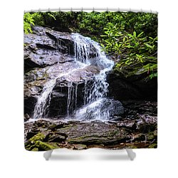Upper Dill Falls Shower Curtain