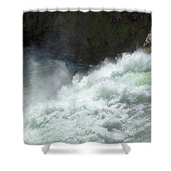 Upper Falls, Yellowstone River Shower Curtain