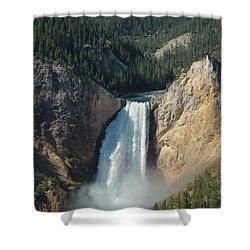 Upper Falls, Yellowstone River Shower Curtain