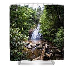 Upper Helton Falls Shower Curtain