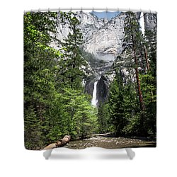 Upper Lower Shower Curtain