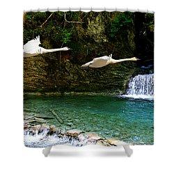 Upper Margaret Falls Shower Curtain