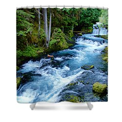 Upper Mckenzie Shower Curtain