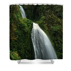 Upper Wahkeena Falls Shower Curtain