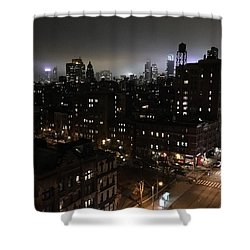 Shower Curtain featuring the photograph Upper West Side by JoAnn Lense