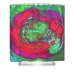Uprising 5 Shower Curtain